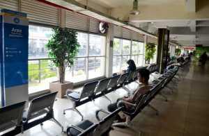 Ruang Tunggu Terminal Bungurasih