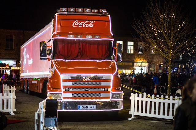 Birthday Celebrations & The Coca Cola Truck!