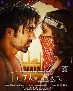 Titliaan by Afsana Khan Ft. Harrdy Sandhu song listen online _ Sargun Mehta - DjPunjab