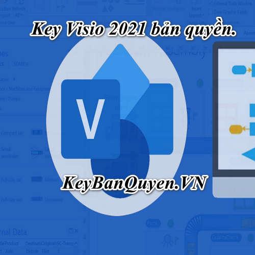 Mua bán key bản quyền Visio 2021 Pro bản quyền uy tín.