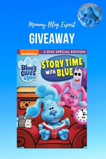 Blues Clues and You Story Time With Blue Giveaway