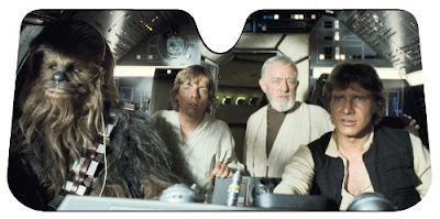 Starwars Accordion Sunshade