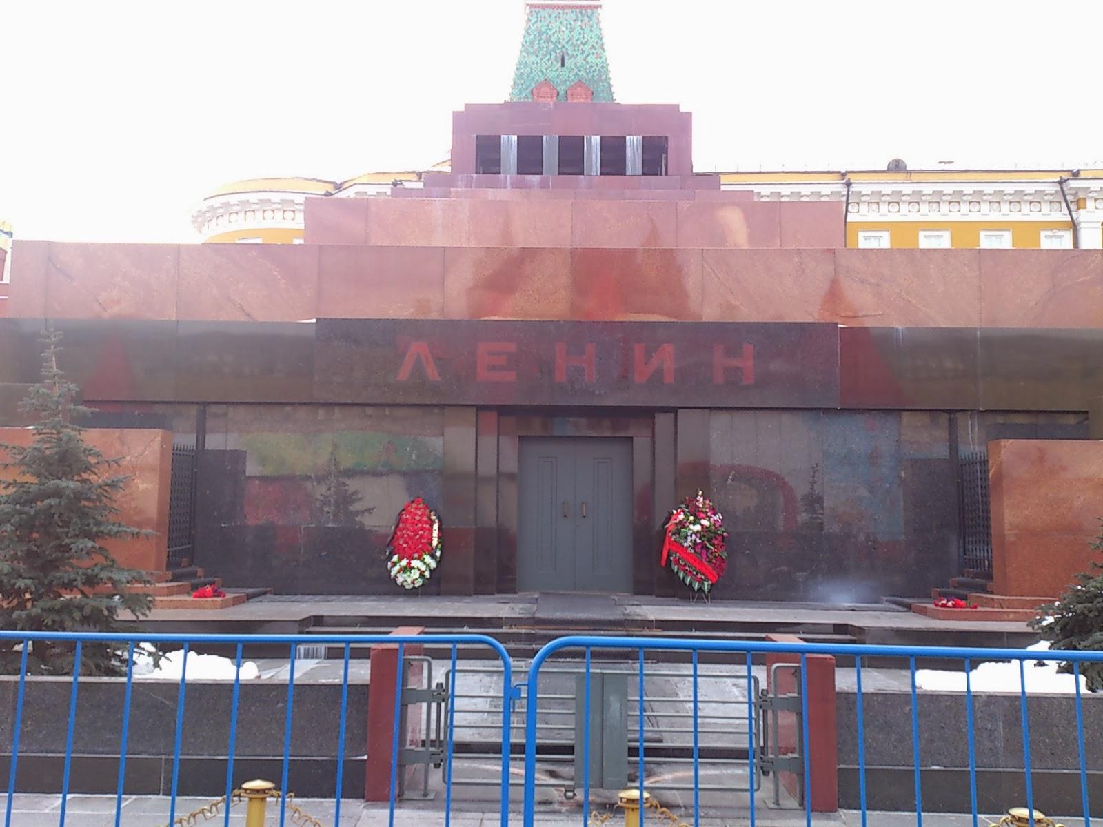 Grób Lenina w Moskwie