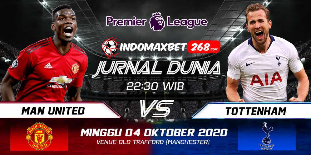 Prediksi Manchester United vs Tottenham Hotspur 04 Oktober 2020 Pukul 22:30 WIB