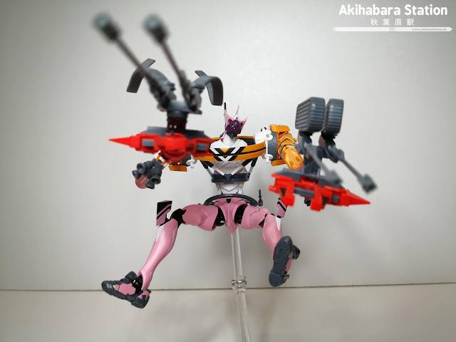Figuras: Review del Robot Spirits Evangelion Unit 8 β - Improvised combat form - Tamashii Nations