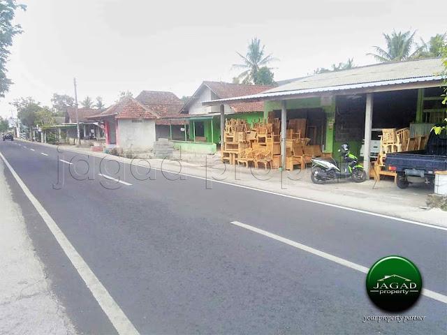 Tanah jalan Magelang Km 9 dekat Resto Pringsewu