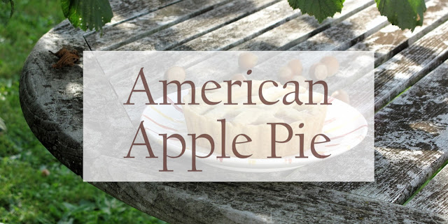 Herbst Rezept - Apfelkuchen