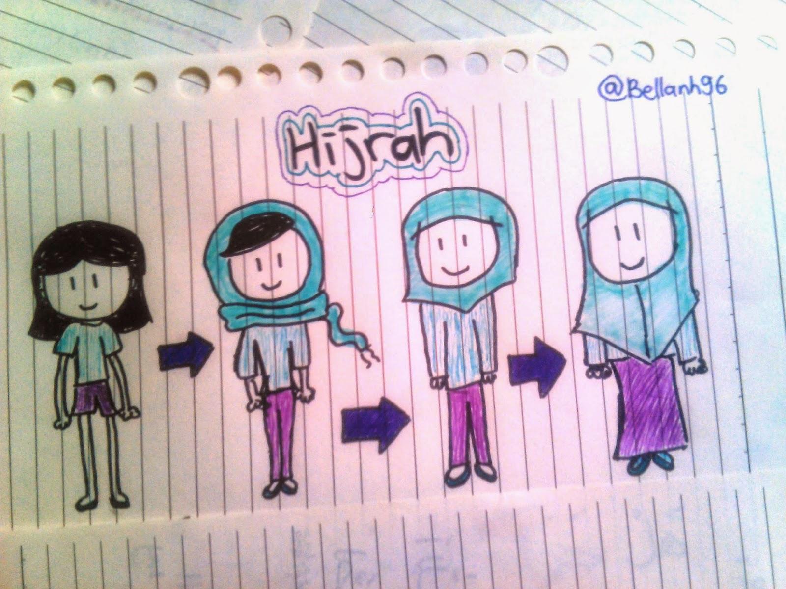 foto Hijrah ke Hijab Syar'i