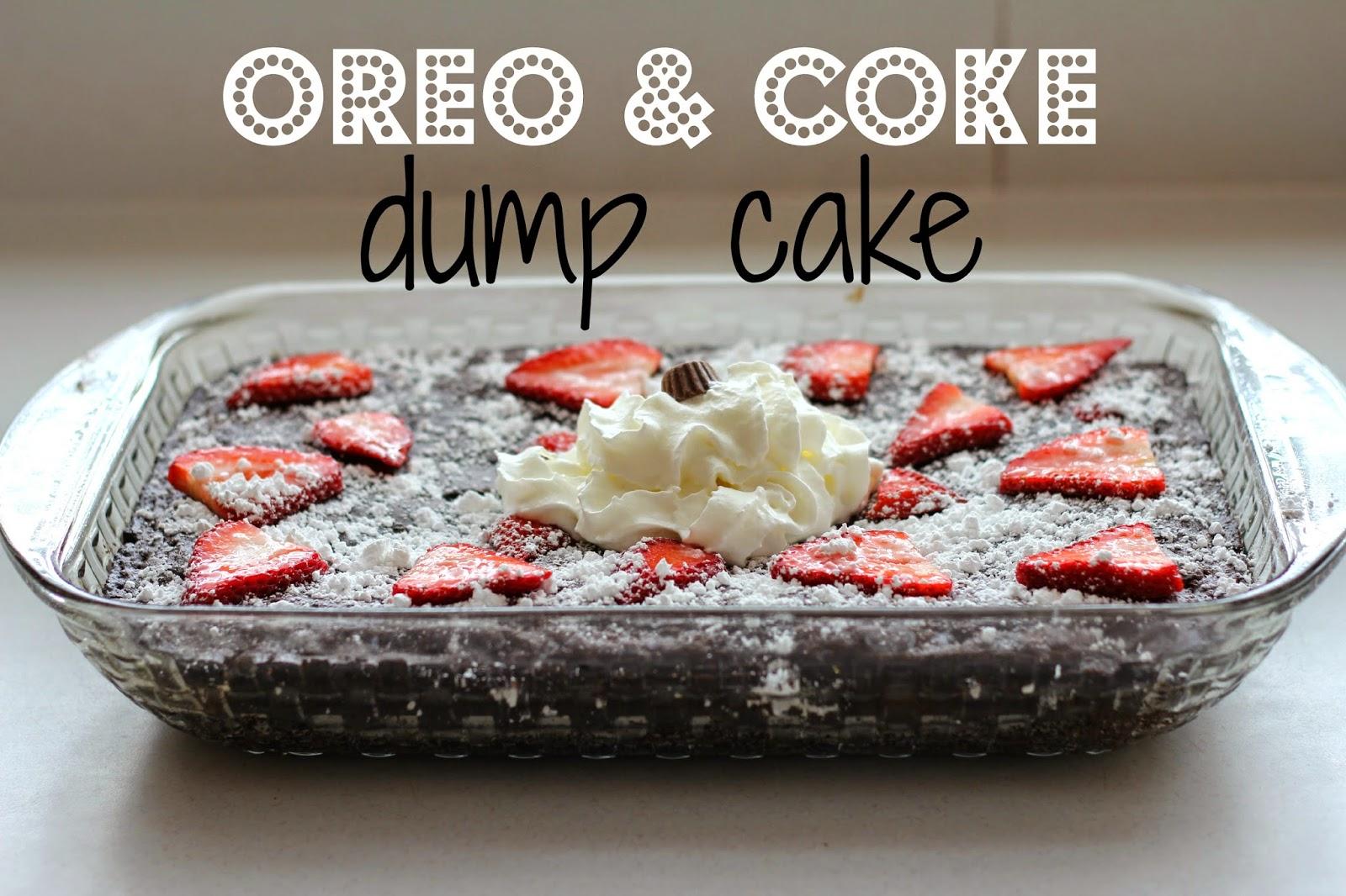Potluck Recipes - Oreo & coke dump cake