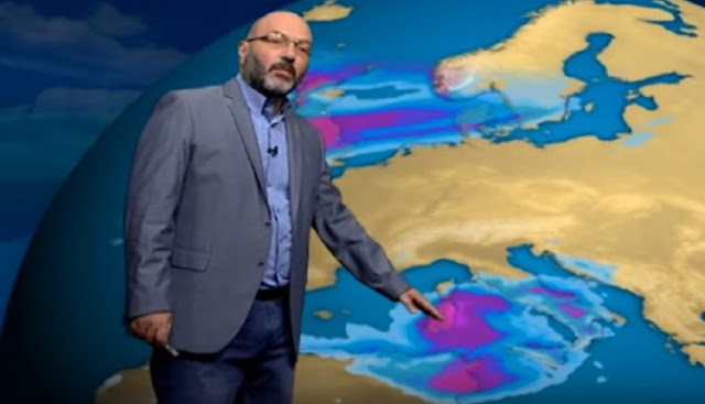 Αρναούτογλου: Βροχές το Σάββατο - Φτιάχνει ο καιρός από βδομάδα (βίντεο)