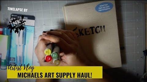 Michaels Art Supply Haul - Black Friday 2018 Purchases