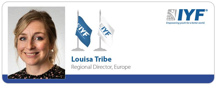 Louisa Tribe, IYF Regional Director - Europe