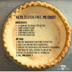 Keto, Gluten-Free Pie Crust