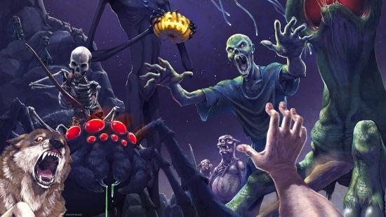 Minecraft - Spooky Scary Mojang - Ultra HD 4K 2160p