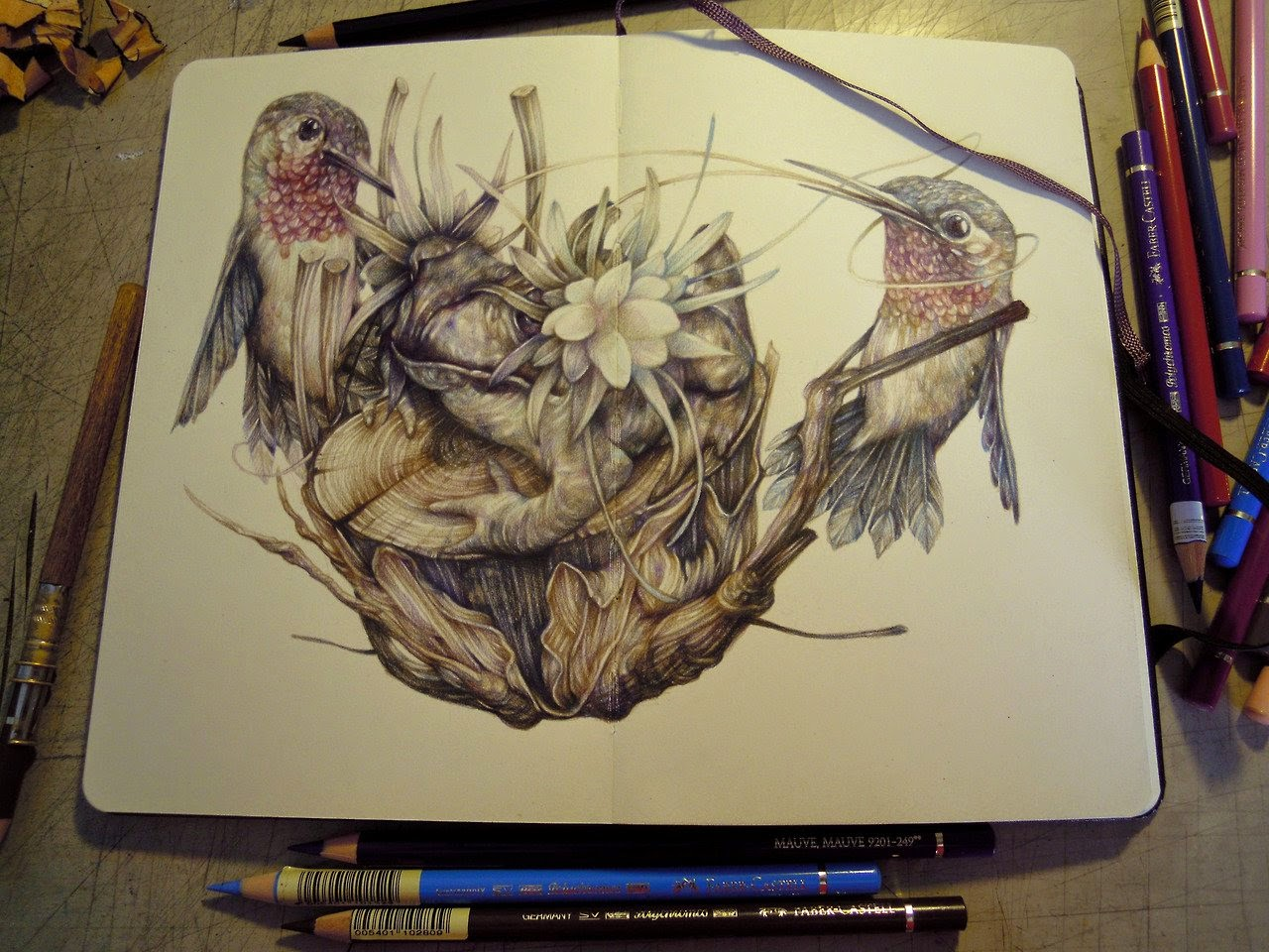 19-Marco-Mazzoni-Surreal-Animal-Drawings-www-designstack-co