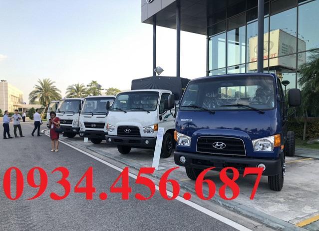 Xe tải Hyundai chuyên chở quá tải năm 2020