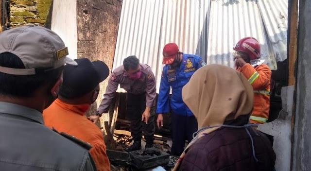 Dapur Milik Warga Karangreja Terbakar, Api Diduga Dari Tungku