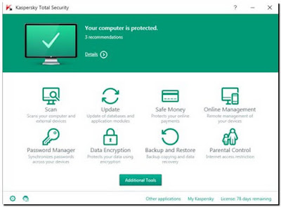 Kaspersky Total Security 2017 17.0.0.611 Full Version