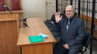 Alexander Ivshin, 63, was sentenced to 7.5 years in prison for activities including hosting Bible discussions via video link.