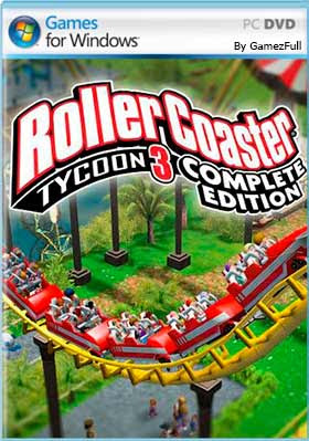 RollerCoaster Tycoon 3 Complete PC Full Español