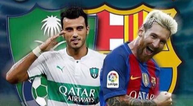 انتهاء بيع تذاكر مباراة الاهلي السعودي وبرشلونة بعد اكتمال عدد مقاعد الملعب