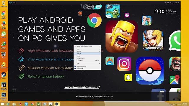 Media Aplikasi Yang Dapat Memainkan Game Android Di PC/Laptop