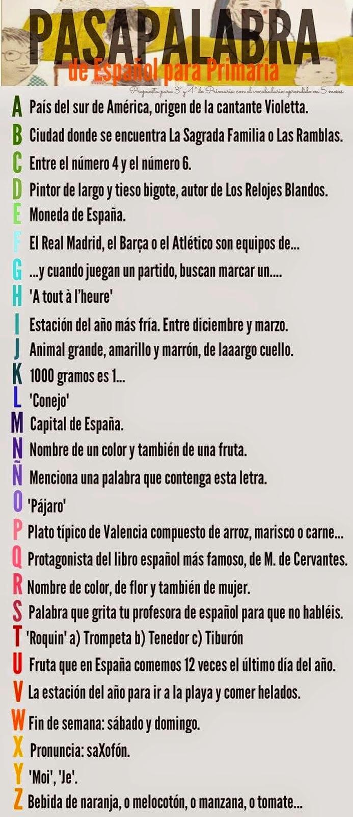 Hispanalia Español Desde Puerto Rico Pasapalabra Y Ni Sí Ni No Ni Blanco Ni Negro