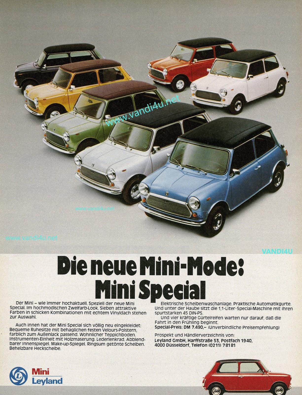 MINI Turns 60: Style Icon's Remarkable Journey Through The Years | VANDI4U