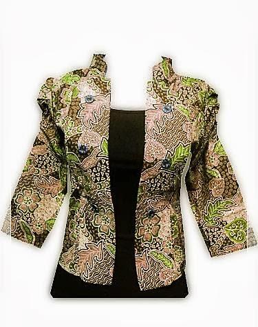 Model Baju Batik Kantor Modern Resmi Dan Formal