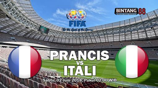Prediksi France Vs Italy 2 Juni 2018