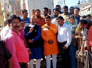 मंत्री श्री रामकिशोर नानो कावरे ने क्रांतिवीर चंद्रशेखर आजाद को अर्पित किए श्रद्धा सुमन