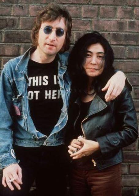 This Is Not Here John Lennon T-Shirt Yoko Ono.  PYGear.com