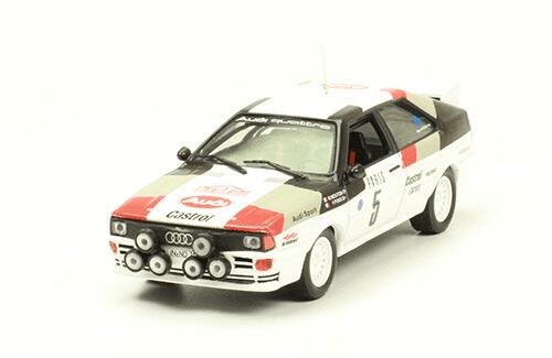 collezione rally monte carlo Audi Quattro 1982 M. Mouton - F. Pons