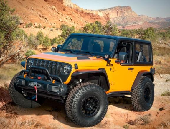 Jeep Wrangler Orange Peelz