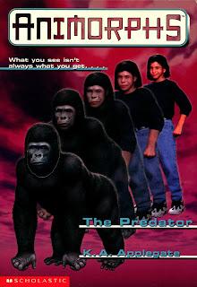 A boy (Marco) turns into a gorilla