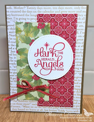 Rhapsody in Craft, Heart of Christmas 2020, For Unto Us, Christmas Cards, #heartofchristmas2020, Stampin' Up! #loveitchopit