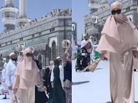 Syahrini Syuting Video Klip di Mekkah, Tapi Lihat Sosok Kakek Di Belakangnya Yang Bikin Netizen Miris