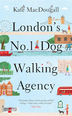 London's No 1 Dog Walking Agency by Kate MacDougall book cover