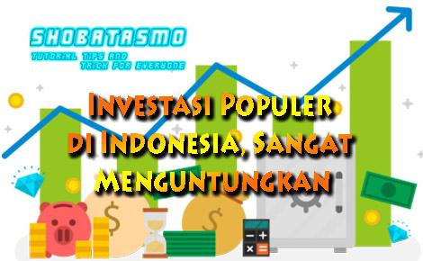 5 Investasi Populer di Indonesia Sangat Menguntungkan Silahkan Dicoba