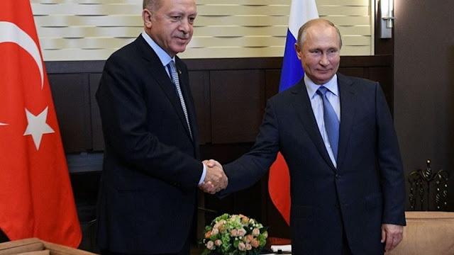 Ο Ερντογάν απειλεί τον Πούτιν