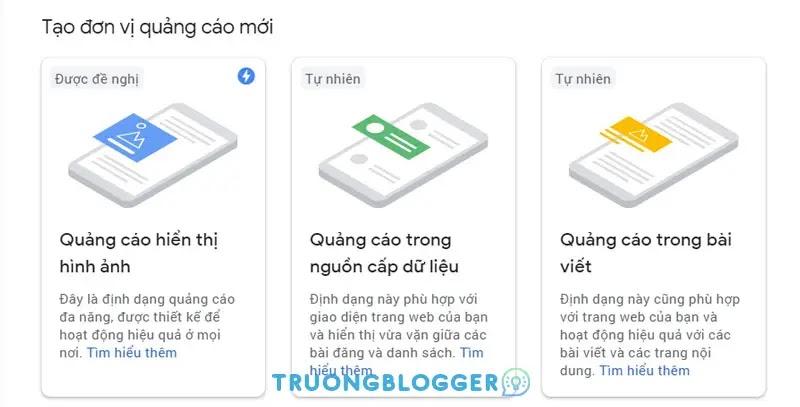 Hướng dẫn cách lấy mã quảng cáo Google Adsense