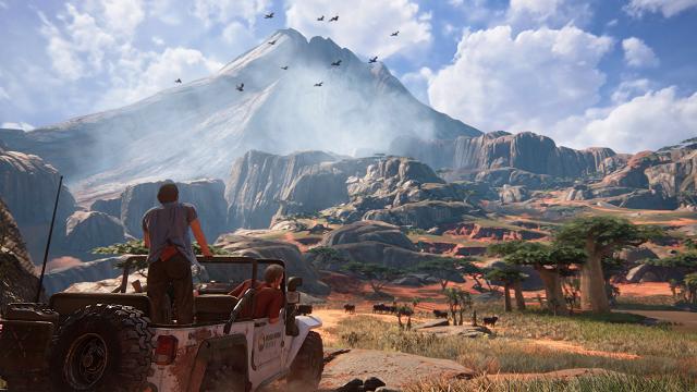 Uncharted 4: A Thief's End/PlayStation/Reprodução
