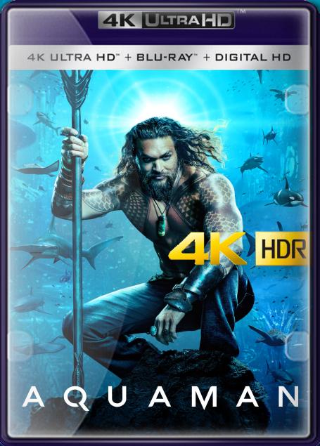 Pelicula Aquaman (2018) IMAX 4K UHD HDR LATINO/INGLES Online imagen