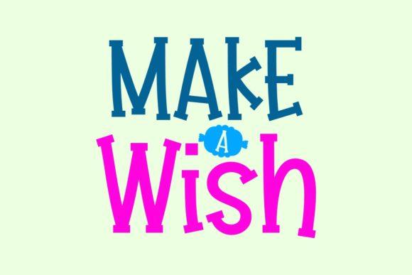 Make a Wish Handwritten Font