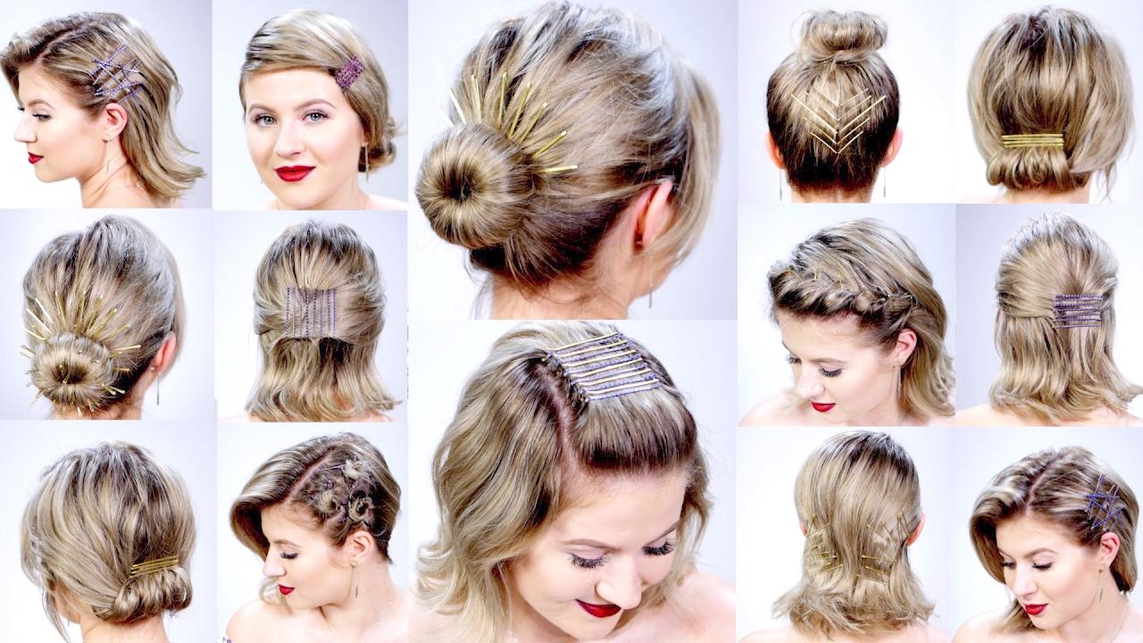 Tutorial Hairdo Rambut Pendek Yang Simple Cepat dan Mudah