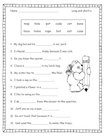 Smiling and Shining in Second Grade: Silent e