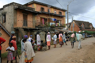 Madagascar holds the record for the longest city with a palindromic name, Anahanahana, Madagascar.