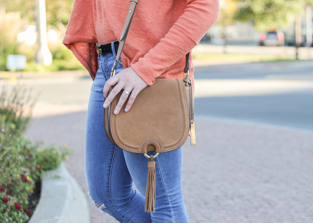 suede vince camuto saddle cross body bag