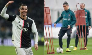 Cristiano Ronaldo Pictured Arriving Juventus Training After Completing Quarantine