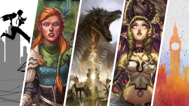 Kickstarter Highlights Dwellings of Eldervale, Eternal Adversary, Middara, On the Undergrund, Roll PLayer, Super Fantasy Brawl, Secret Spy Agency